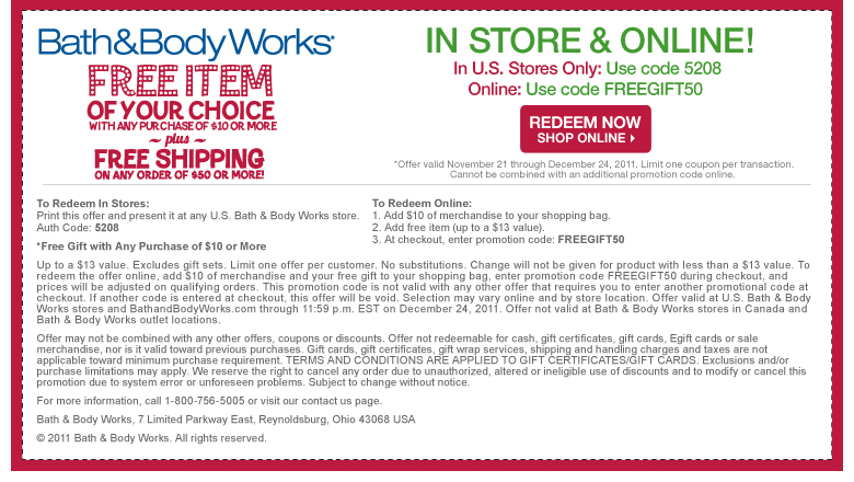 combining coupons at bath and body works